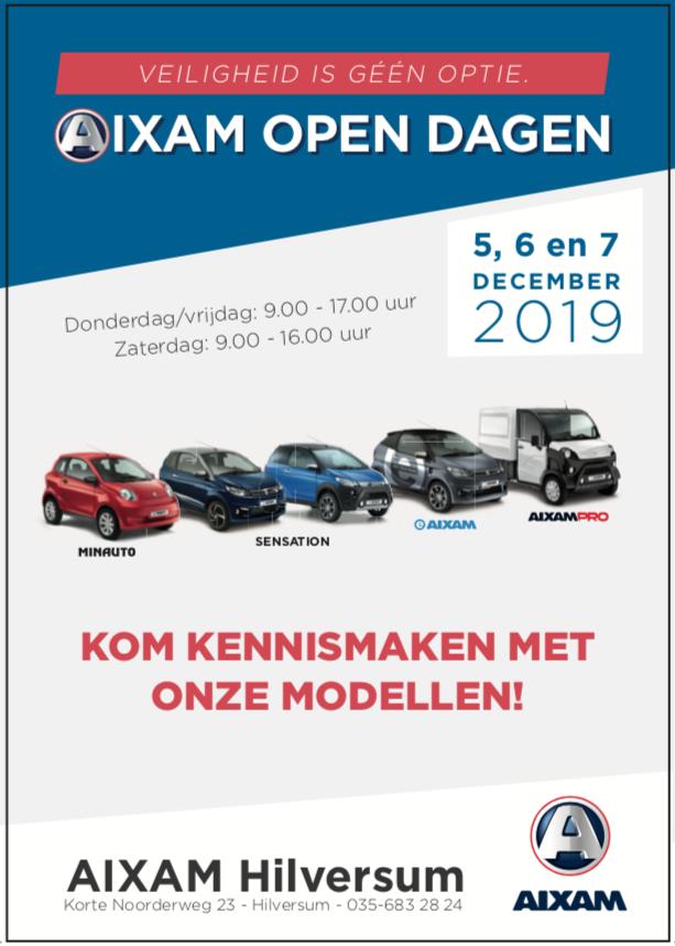 Open dag bij Aixam Hilversum